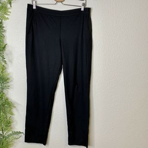 Kit and Ace Trouser Pants Black Wool Cashmere 10